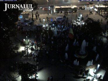 LIVE: http://jurnalul.ro/webcam/piata-universitatii-fantana-316.html UPDATE:ora 20.11