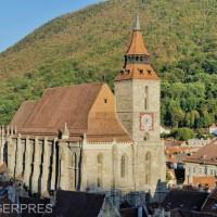DOCUMENTAR: Biserica Neagră din Braşov, cel mai mare lăcaş de cult în stil gotic din sud-estul Europei | Agenția de presă Rador